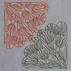 RW Tulip Block embroidery design