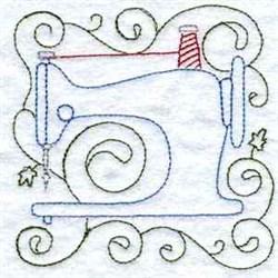 Sewig Machiine embroidery design