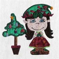 Xmas Elf embroidery design