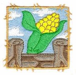 Corn Block embroidery design