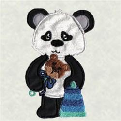 Baby Panda embroidery design
