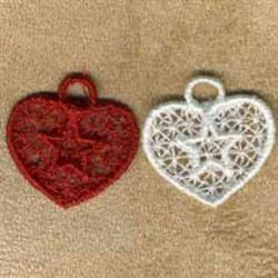 Heart Charms embroidery design