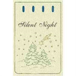 Silent Night Bag embroidery design