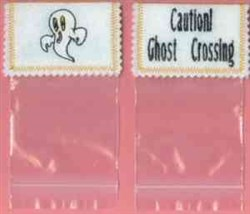 Ghost Crossing embroidery design
