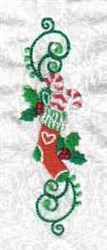 Stocking Decoration embroidery design