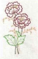 Flower Blooms embroidery design