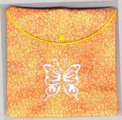 Butterfly Coin Purse embroidery design