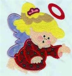 Applique Cherub embroidery design