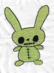 Scary Rabbit embroidery design