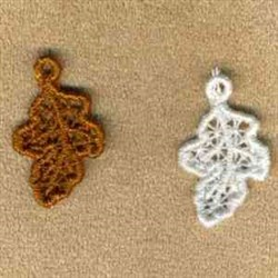 Leaf Charms embroidery design