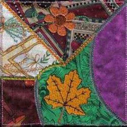 Crazy Quilt Applique embroidery design