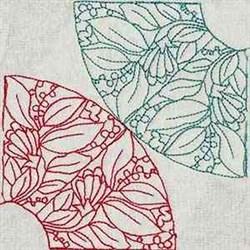 RW Corner Block embroidery design