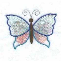Applique Papillon embroidery design