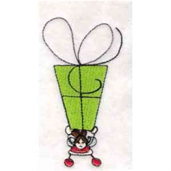 Gift Elf embroidery design