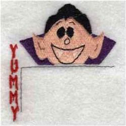 Vampire Pocket Topper embroidery design