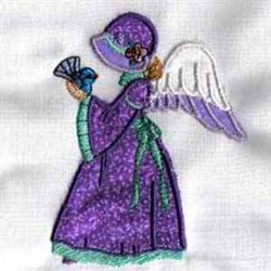 Applique Angel embroidery design