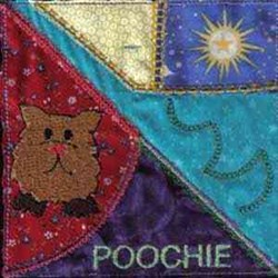 Poochie Block embroidery design