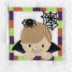 Dracula Block embroidery design