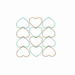 Hearts Quilt embroidery design