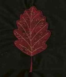 Autumn Applique Leaf embroidery design