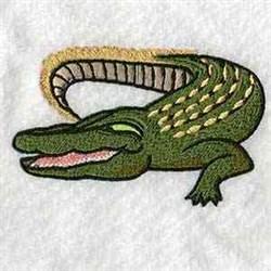 Australian Croc embroidery design