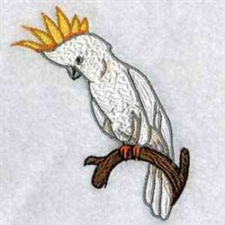 Australian Cockatoo embroidery design