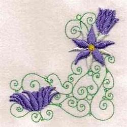 Australian Wildflower Corner embroidery design