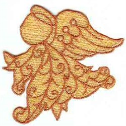 FSL Gold Angel embroidery design