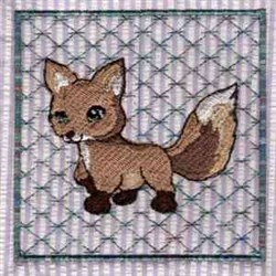 Bablocks Fox embroidery design