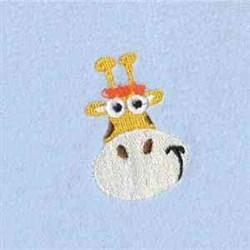 Wrap Fringe Giraffe embroidery design