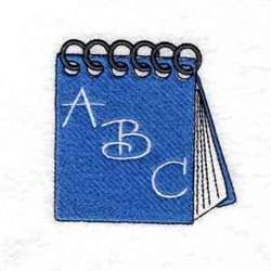 School Notebook embroidery design