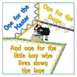 One For The... embroidery design