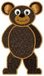 Cartoon Bear embroidery design
