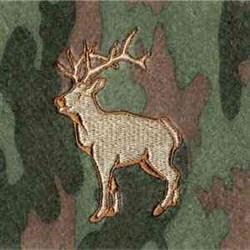 Beverage Wrap Deer embroidery design