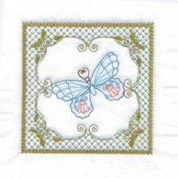 Butterfly Quilt embroidery design