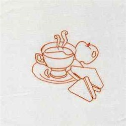 Breaktime Snack embroidery design