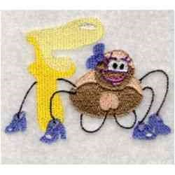 Bugs & Insects F embroidery design