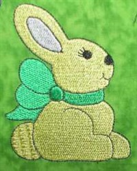 Bunny Tales Profile embroidery design