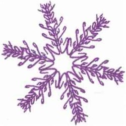 Celebrate Snowflake embroidery design