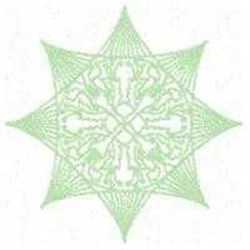 Greenwork Winter Ornament embroidery design