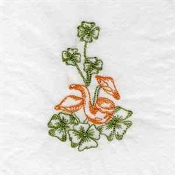 Colorwork St Pattys embroidery design