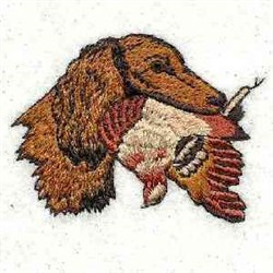 Bird Dog embroidery design