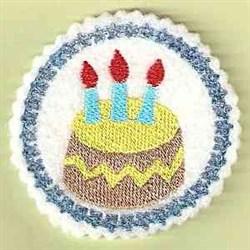 Bithday Cake embroidery design