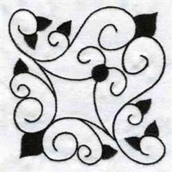 Ironwork Scrolls embroidery design