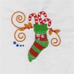 Jacobean Xmas embroidery design