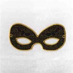 Bat Mask embroidery design