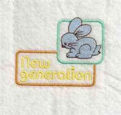 New Generation embroidery design