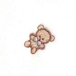Little Teddie embroidery design