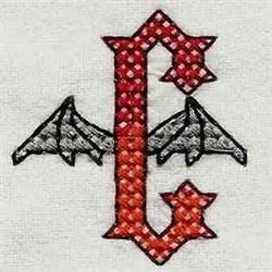 Heavy Metal C embroidery design