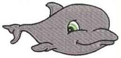 Sea Friends Whale embroidery design